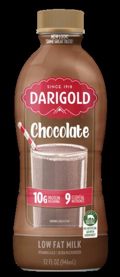 Chocolate Milk 1% Low Fat Quart Bottle