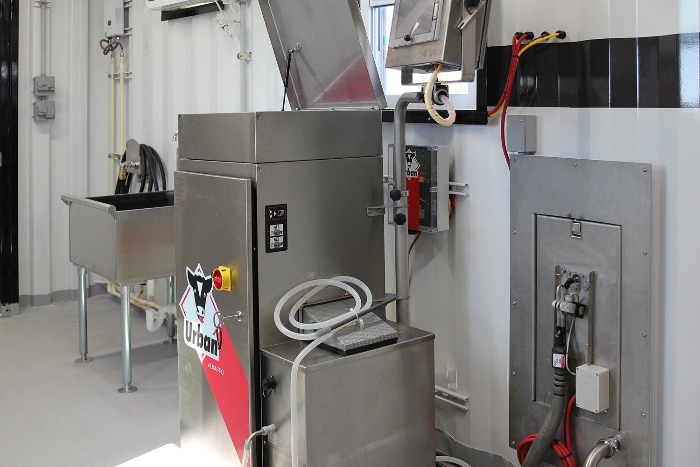 Sanitized dairy equipment