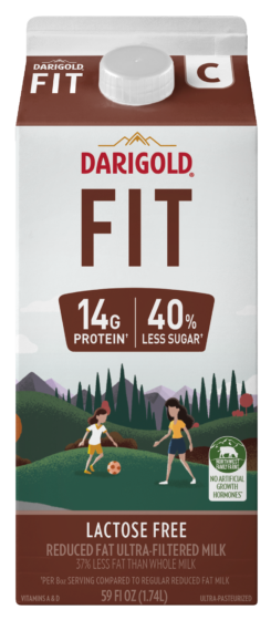 FIT Chocolate 2% Reduced Fat 59oz Carton