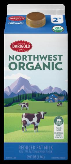 Organic Milk 2% Reduced Fat 59oz Carton