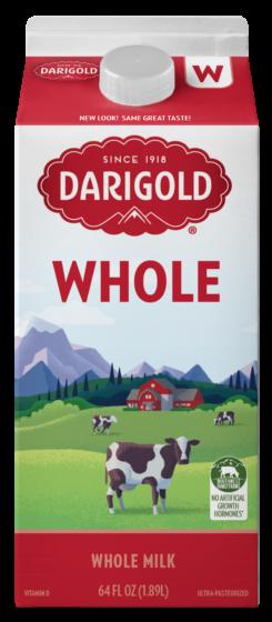 Whole Milk Half Gallon Carton
