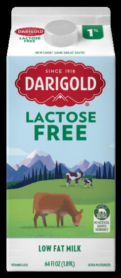 Lactose Free 1% Half Gallon