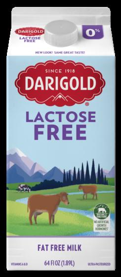 Lactose Free 0% Half Gallon