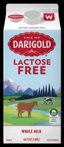 Lactose Free Whole Half Gallon