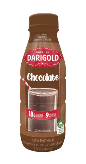 Chocolate Milk 1% Low Fat Single Serve Bottle
