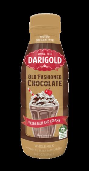 Old Fashioned Chocolate Milk Single Serve Bottle 1