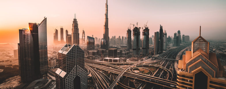Dubai urban landscape