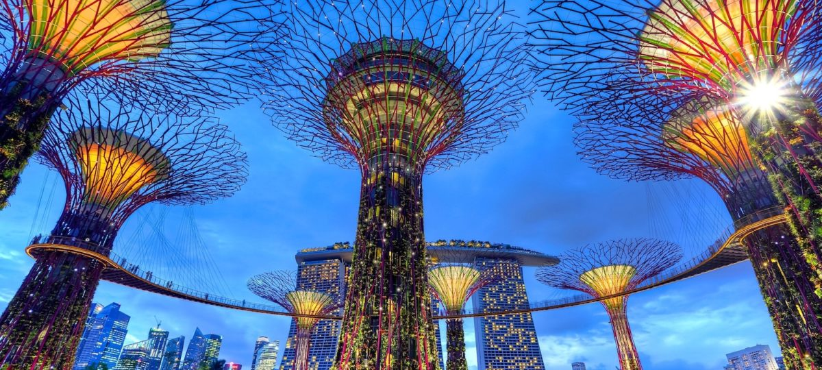 Singapore artificial trees