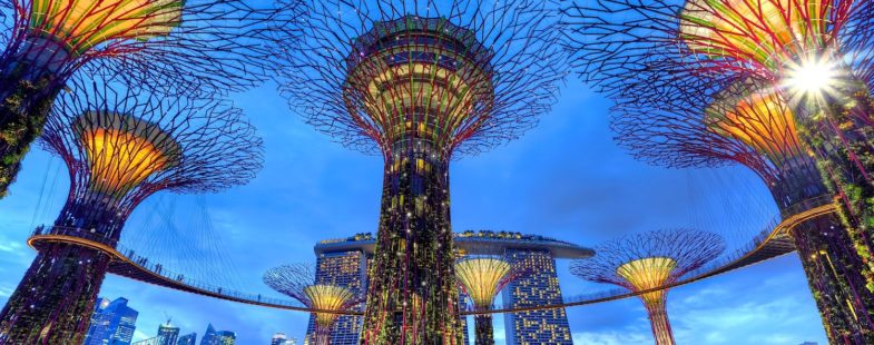 Singapore artificial trees